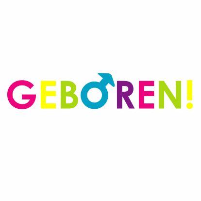 Vrolijke geboortekaart jongen - Geboortekaartjes - Kaartje2go