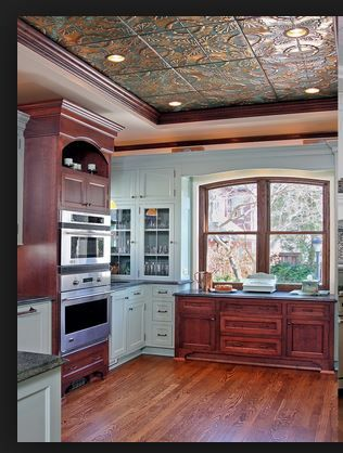 1000 Ideas About Tin Ceiling Kitchen On Pinterest Tin