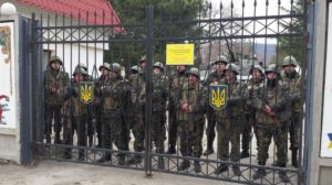 Russische speciale eenheden omsingelen Oekraïense basis