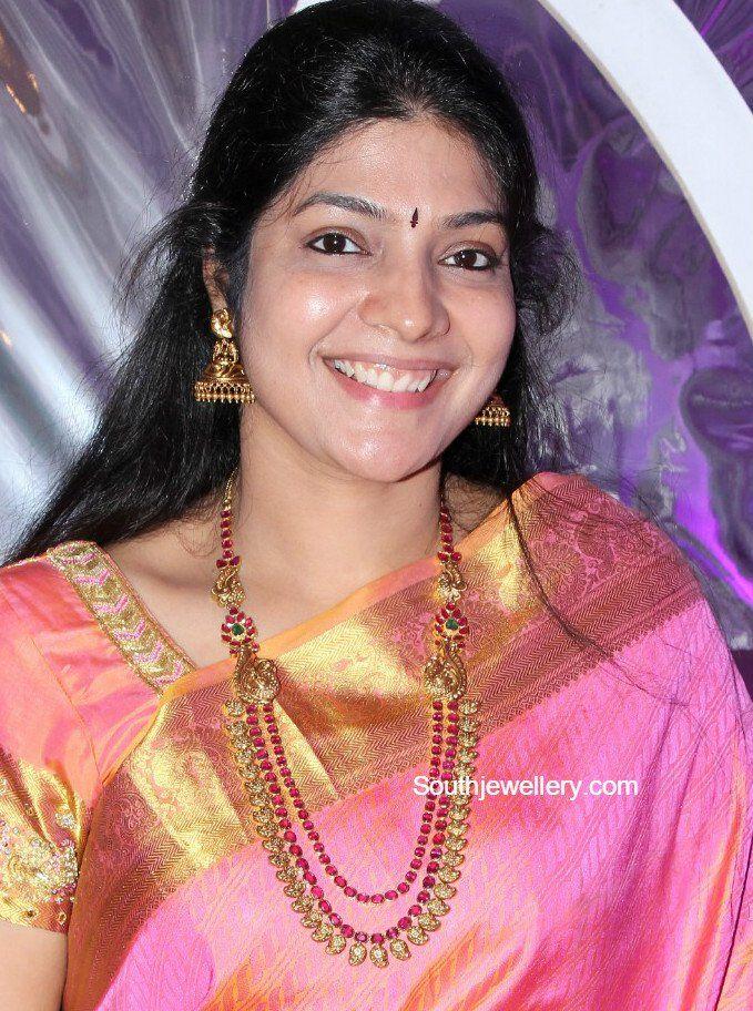 Ruby Mango Mala Photo Mangalyam 1 Jewelry Mango Mala