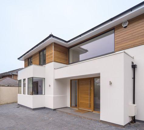 Haus mit besonderem Stilmix