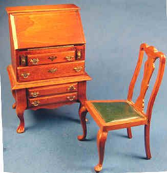 Desk+and+chair+-+vintage+-+$190.00+:+S+P+MINIATURES+-+hand+crafted+dollhouse+miniatures+and+scale+miniatures+,+S+P+MINIATURES+-+shop+online+for+hand+crafted+dollhouse+miniatures+from+many+artisans+and+countries