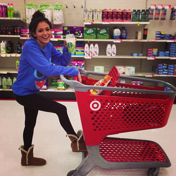Wow Beth is at Target?! What a surprise!!!! Not..  @briddynicole - @bethanynoelm- #webstagram