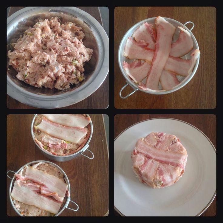 Pitadas da Bella: Terrine de frango com lombo defumado