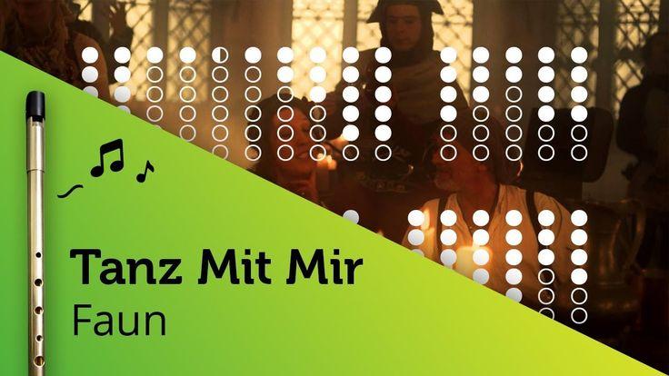 Tanz Mit Mir (Faun) on Tin Whistle D + tabs tutorial