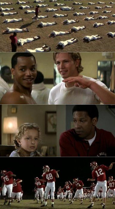 Remember the Titans. One of my favorite movies of all time