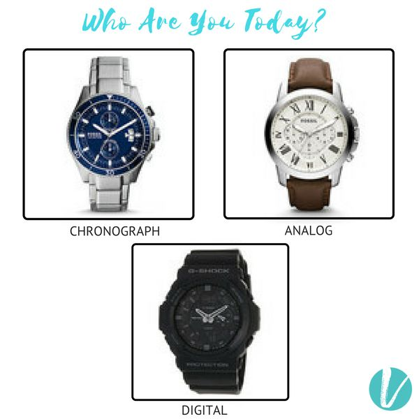 Who Are You Today? Shop Your Style on Vilara. Shop Watch by Product- Left:111332 Right:111326 Centre:111344. #Watch #Whoareyoutoday? #Analog #Chronograph #Digital #Premium Vilara