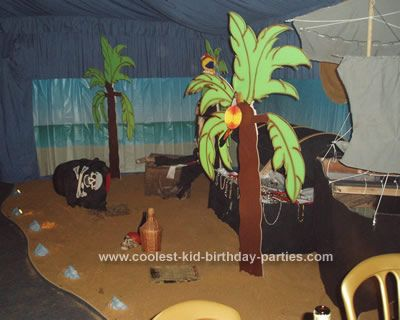 Treasure island room decor