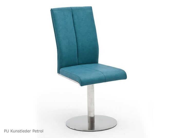 FLORES C Drehtstühle Esszimmerstühle Konferenzstühle 2er Set