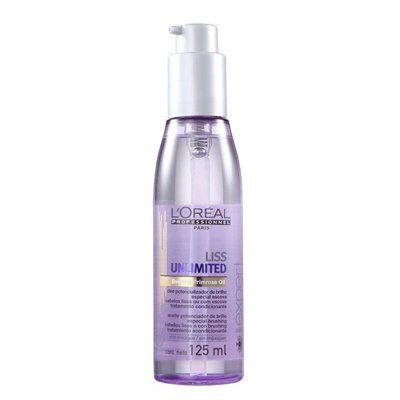 Óleo potenciador de brilho a base de Evening Primrose.   Proporciona 4 dias de efeito liso mesmo com 80% de umidade repara e desembaraça o cabelo.