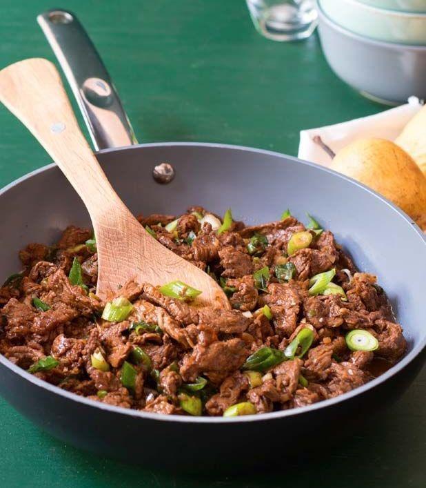Korejské hovězí BBQ (Bulgogi) (www.albert.cz/recepty)