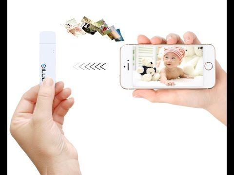 iLuun Air The World's First Wireless USB 3.0 Flash Drive For Smartphones...