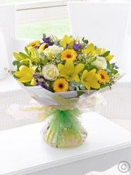 Large Spring Sunshine Hand-tied