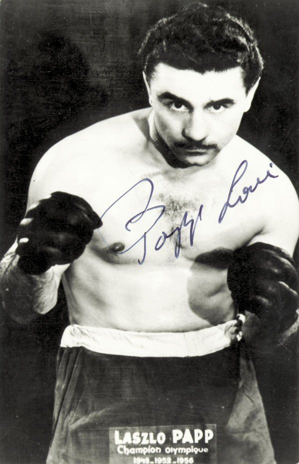 Papp Laci - Amateur career  / Papp was an Olympic gold medalist three times, at middleweight in London in 1948, then as a light middleweight in Helsinki in 1952 and in Melbourne in 1956. Papp also was the European middleweight champion as a middleweight in 1949 at Oslo and at light middleweight at Milan 1951. He scored 55 first round knockouts as an amateur.