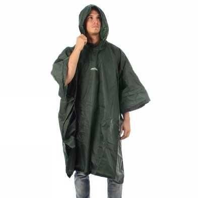 Acquista FERRINO MANTELLA DROP PONCHO VERDE UOMO -