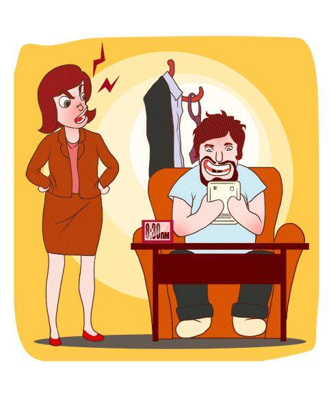 Smartphone addict illustration or cartoon. Design single-panel illustration or cartoon symbolizing a smartphone addict (multiple winners possible). | Freelancer.com