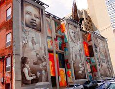 A découvrir le Street Art de #Philadelphie !!!!  #streetart #philly #mural #pennsylvanie #usa