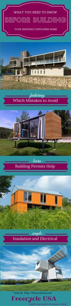 Things You Must Consider When Designing A Container House: Best 25+ Container Buildings Ideas On Pinterest