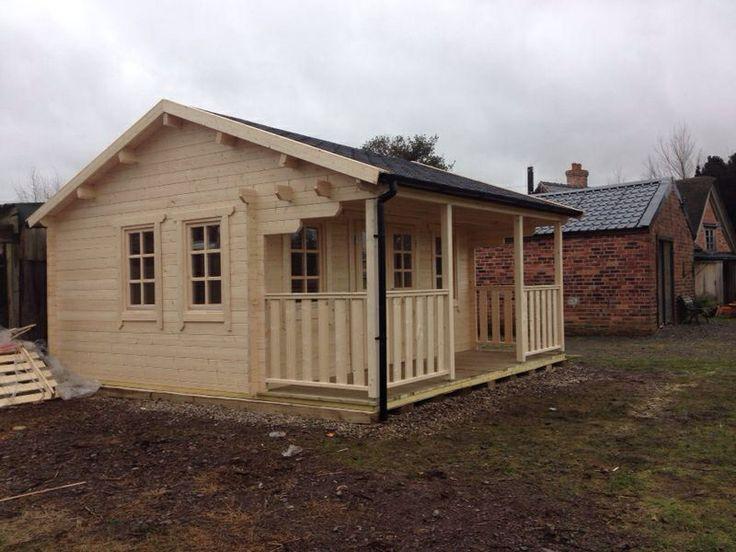 Pavilion log cabin