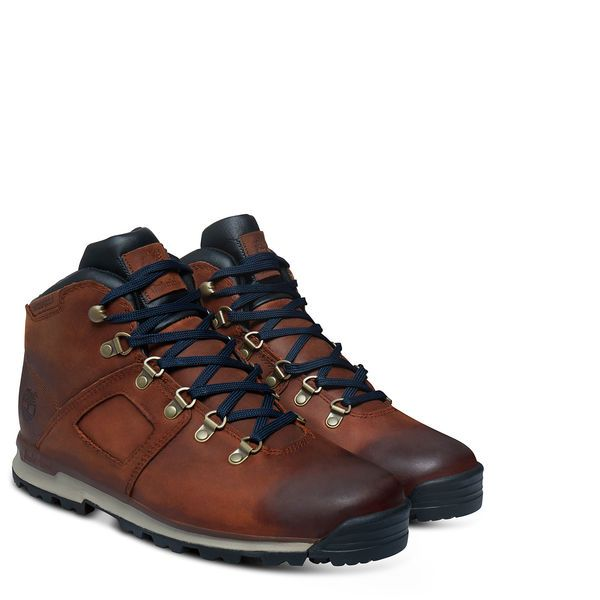Earthkeepers Gt Scramble Mid Leather Waterproof Bottes Chaussures Hautes Chaussure