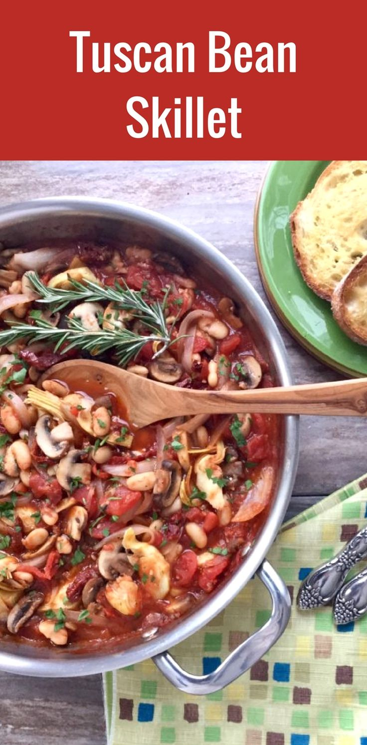 Looking for a heart-warming one-pot vegetarian meal? Look no further you've found it! This winning recipe has fresh and vibrant flavours tasting like it came right from Tuscany!