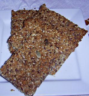 Troll a konyhámban: Knekkebrød, ropogós kenyér liszt nélkül