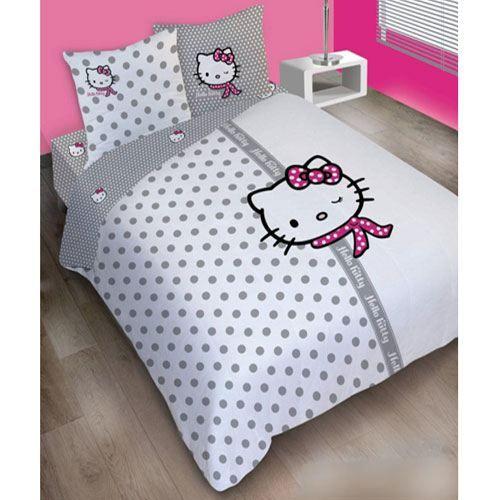 hello kitty couture   Parure de lit Hello Kitty Couture 200 - Achat / Vente Parure de lit ...