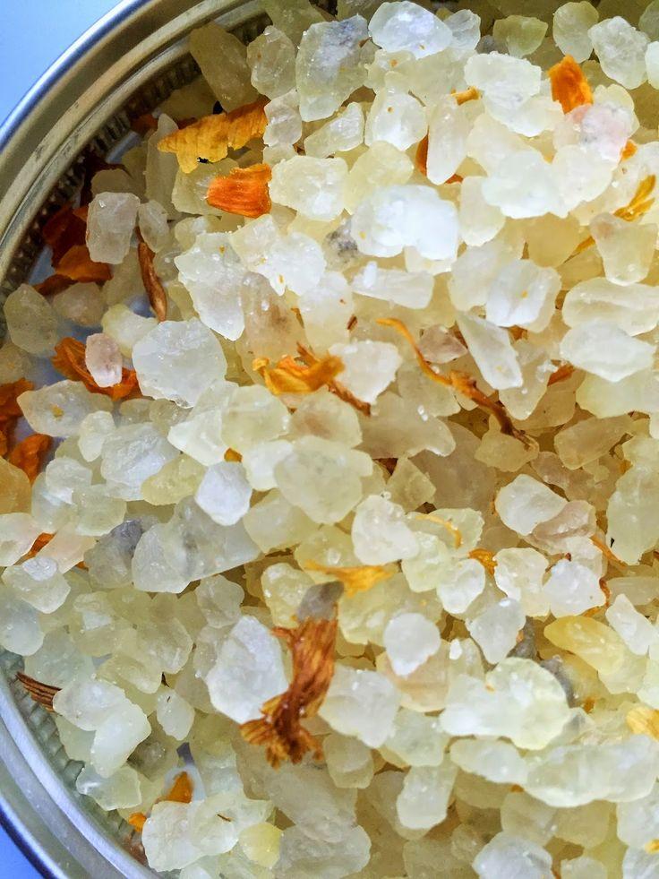 Czas dla Ciebie: Sól do kąpieli Wanilia z Arganem