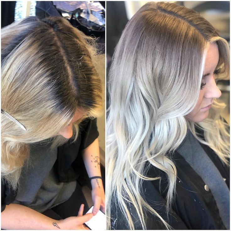 How to get rid of solid harsh roots and blend your natural root color for a seam… – Dana Butterfly