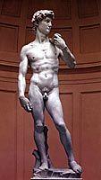 Michelangelo: Daavid, 1501-1504, täysrenessanssi