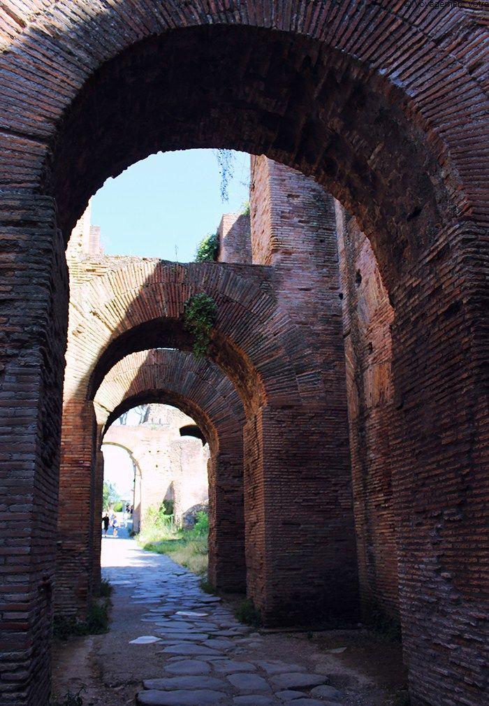 Le mont Palatin à Rome