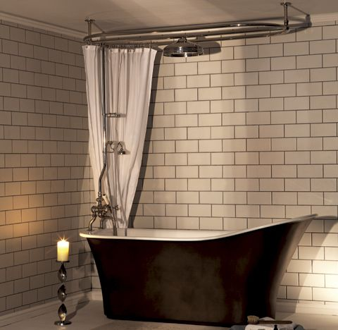 free standing bath with shower - Google Search