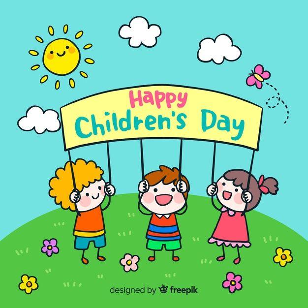 Download Children S Day Background With Happy Sun For Free Happy Children S Day Child Day Happy Kids
