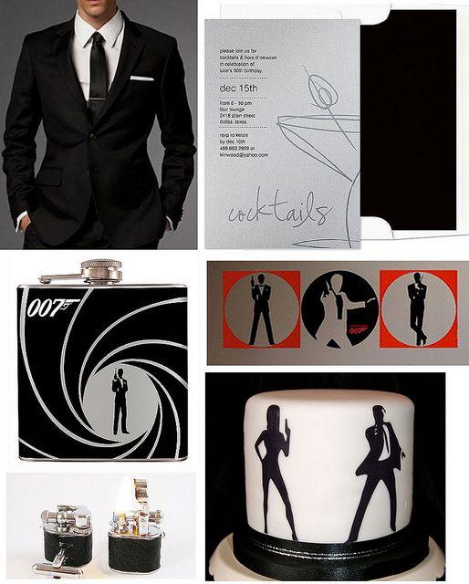 A Bond, James Bond, Birthday by finestationery, via Flickr