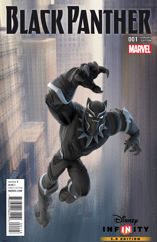 Your New Look Black Panther #1 Comic Book