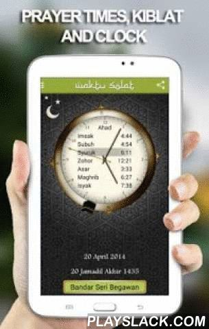 Waktu Solat Brunei  Android App - playslack.com ,  An elegant app, easy and convenient interface for prayer times, kiblat direction and nearby masjid wherever you are.★ Solat time of Imsak, Subuh, Syuruk, Dhuha, Zohor, Asar, Maghrib and Isyak.★ Automatic added 3 minutes for Belait district and 1 minit for Tutong district.★ The next prayer time is highlighted to easily aware for next prayer.★ Digital magnetic Compass using your phone sensor will quickly point to the Kiblat direction. Device…