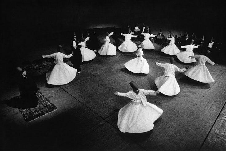 wirling dervishes byAra Güler