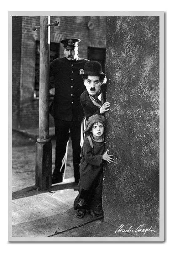 charlie chaplin the kid essay Charlie was thrown on his own resources before he reached the age of ten jackie coogan and charlie chaplin on the set of the kid however.