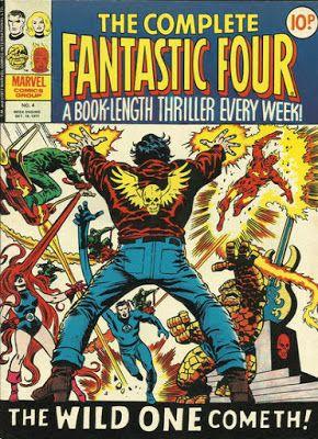 Marvel UK, Complete Fantastic Four #4