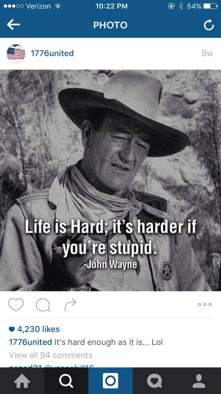 John Wayne Quote Life Is Hard 29 Best Weighing My Options Images On Pinterest  Alternative