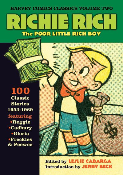 Richie Rich Comic Books (first appeared in 1962)