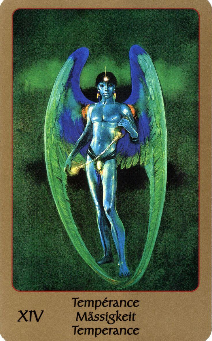 Temperance - Tarot of Eden