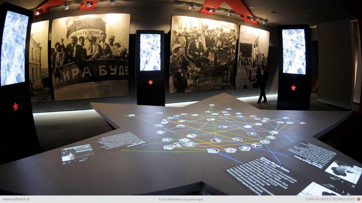 Russian Museum of Jewish History - AV Technology by Kraftwerk Living Technologies, Austria // www.kraftwerk.at