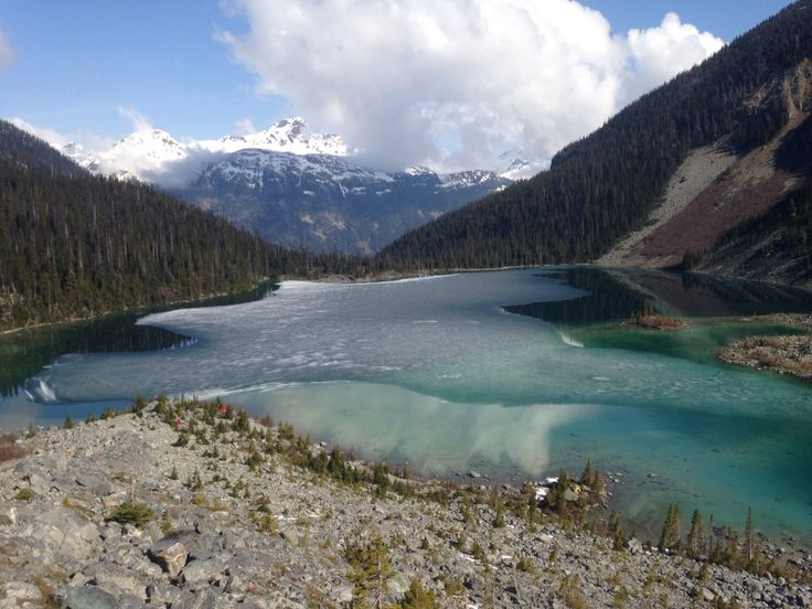 Upper Joffre Lake- May 17, 2015