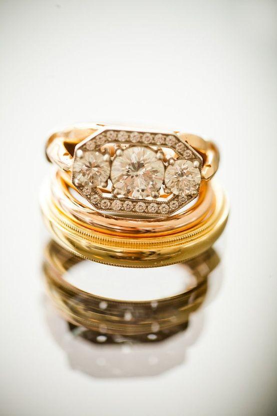 Anneaux Mariage & Fiançailles  Designer Jewelry Galleria  Pinterest