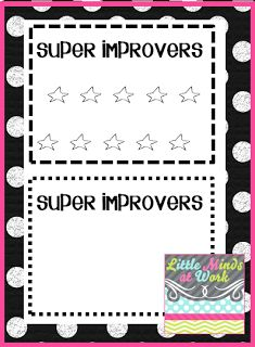 Little Minds at Work: Whole Brain Teaching {Super Improvers Wall}