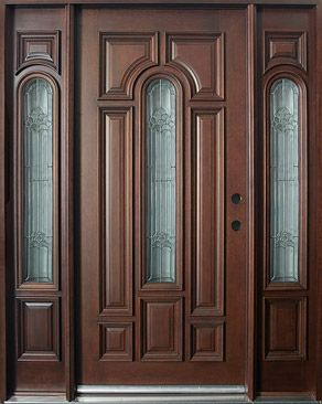 Love the door; don't like the detail in the glass sections (would simplify)