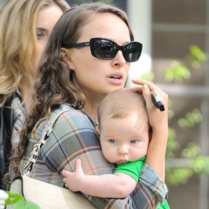 of course baby Aleph is adorable...love Natalie Portman