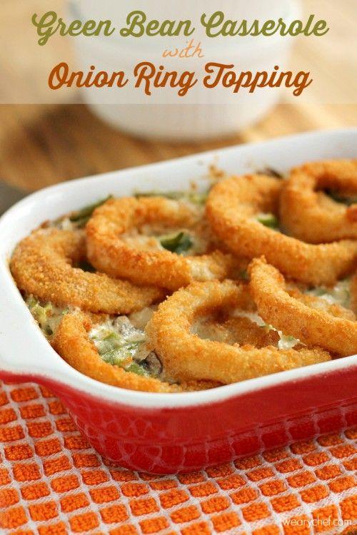 Tasty Green Bean Casserole Ring Recipe