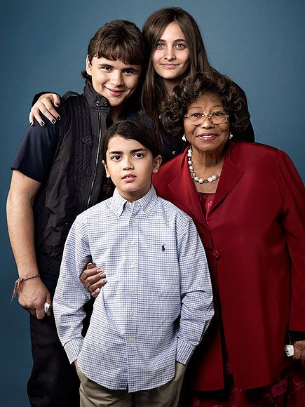 Michael Jackson's mother - Katherine Jackson - and his children